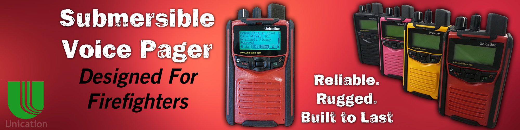 Submersible Voice Pager from Bay Electronics in Wisconsin
